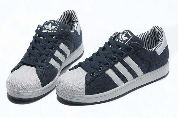 Adidas Superstar Mens & Womens (unisex) Denim Dark Blue White Denmark